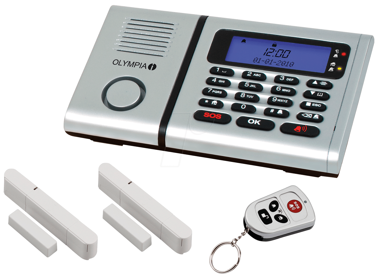 Olympia Wireless Alarm System Protect 6030