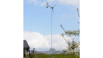 Environnement   chez soi. Une éolienne