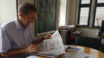 le maire de Hésingue soutenu par ses pairs