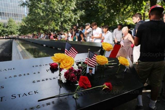 Aujourd'hui, comme chaque année, de nombreux hommages se dérouleront à New York. Photo Spencer PLATT/GETTY IMAGES NORTH AMERICA/AFP