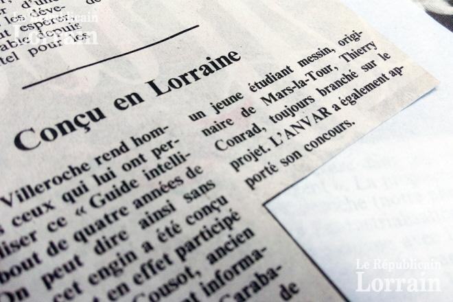 Républicain Lorrain du 24 mai 1986