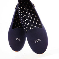 Loly in the Sky — Isabella navy me and you flats - Loly in the sky - Spring/Summer 2013 Collection