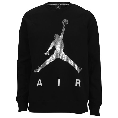 Jordan Jumpman Air Fleece Crew - Men's at from Foot Locker