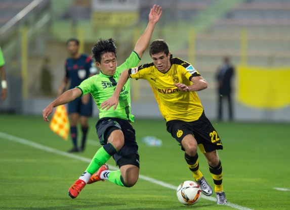 Image result for pulisic dribbling