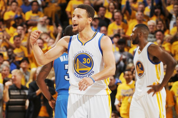 Stephen Curry, Warriors go big to stay alive vs Thunder ...