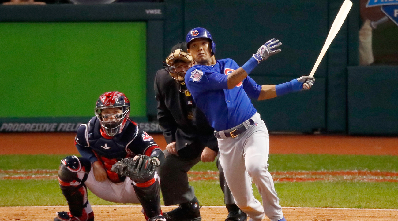 Image result for 2016 world series game 6 russell grand slam