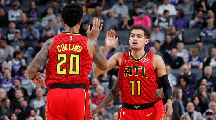 Atlanta Hawks v Sacramento Kings