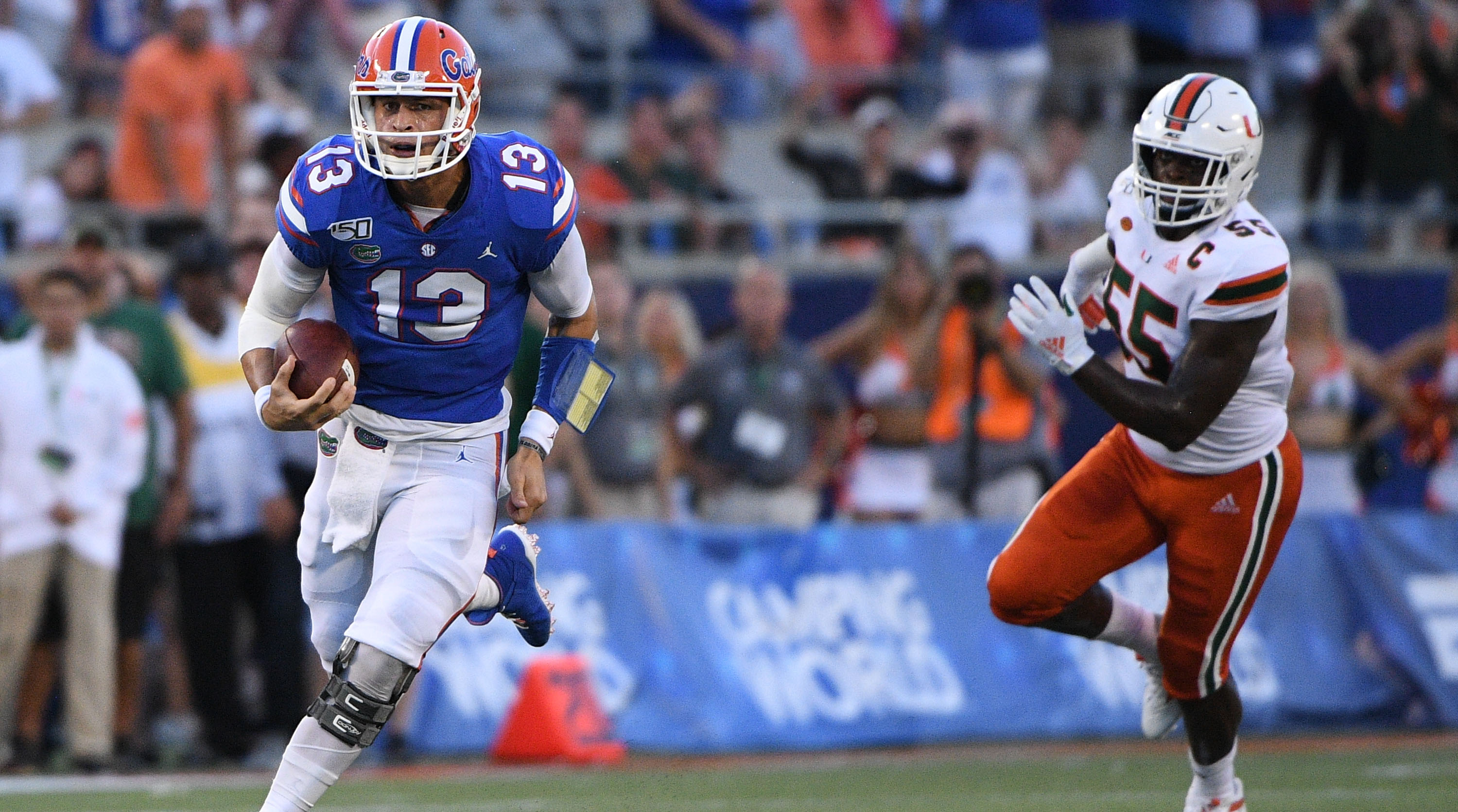 No. 8 Florida Edges Miami in Opener That Showcased the Madness of College Football