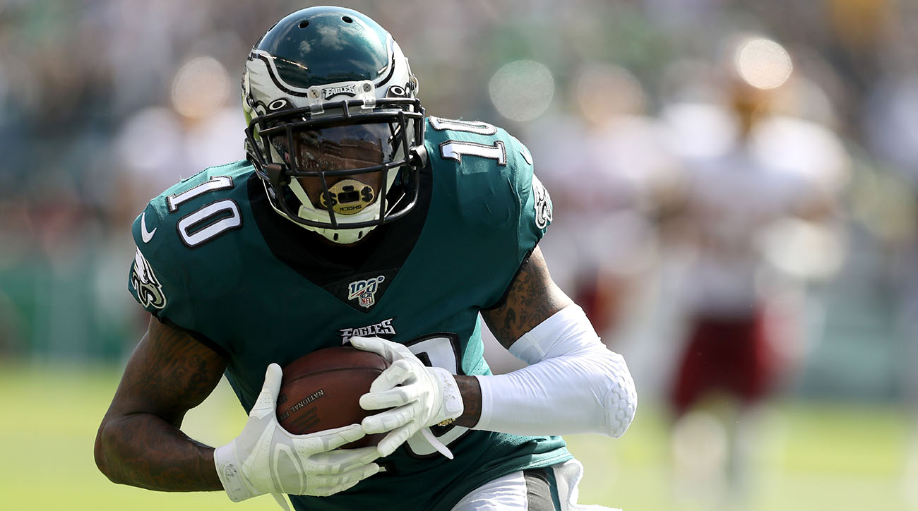 Report: Eagles' DeSean Jackson Out Two Weeks With Abdominal Strain
