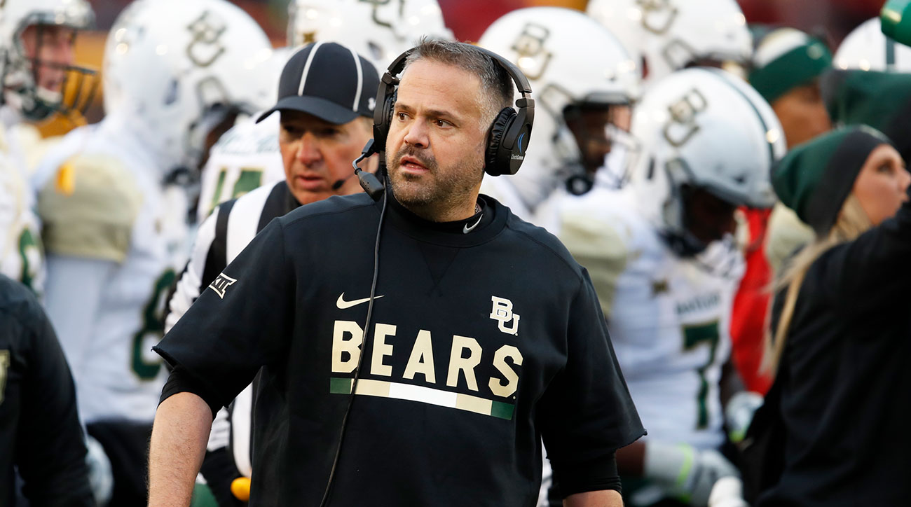 Matt Rhule's Texas Immersion Is at the Heart of Baylor's On-Field Turnaround