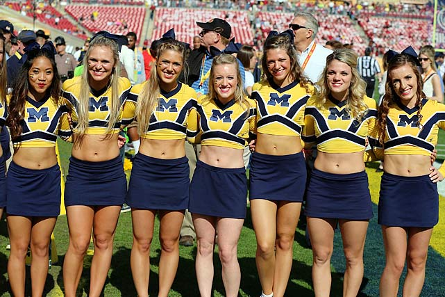 Michigan Cheerleaders Team