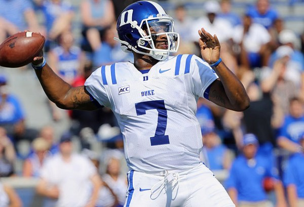 Duke QB Anthony Boone out indefinitely with broken ...