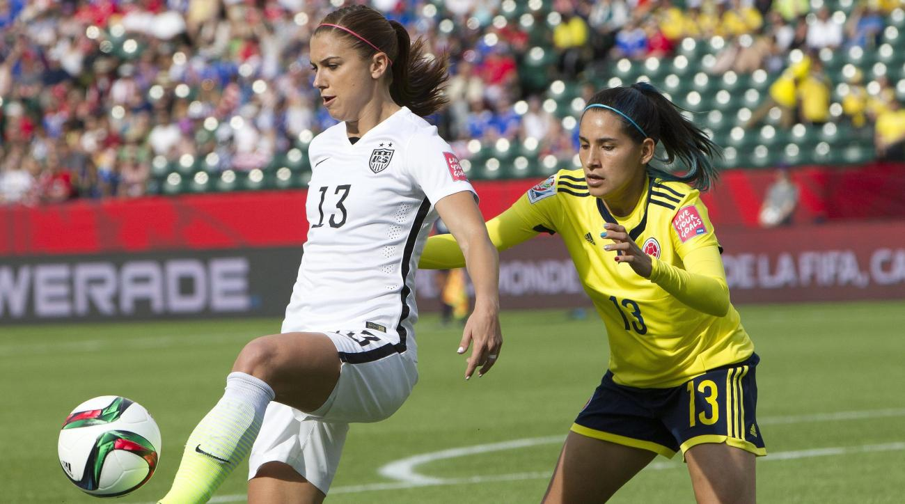 Watch: Alex Morgan scores to give USWNT 1–0 lead against ...