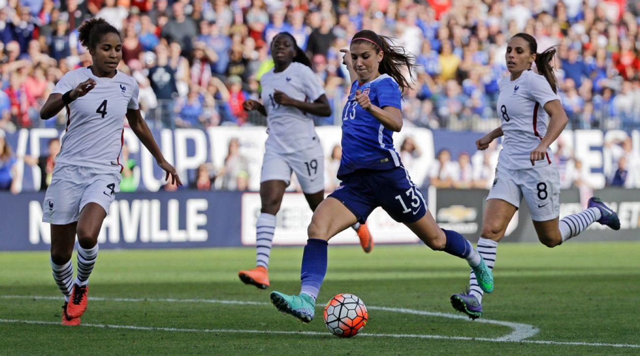 Video: USWNT's Alex Morgan scores late game-winner vs ...