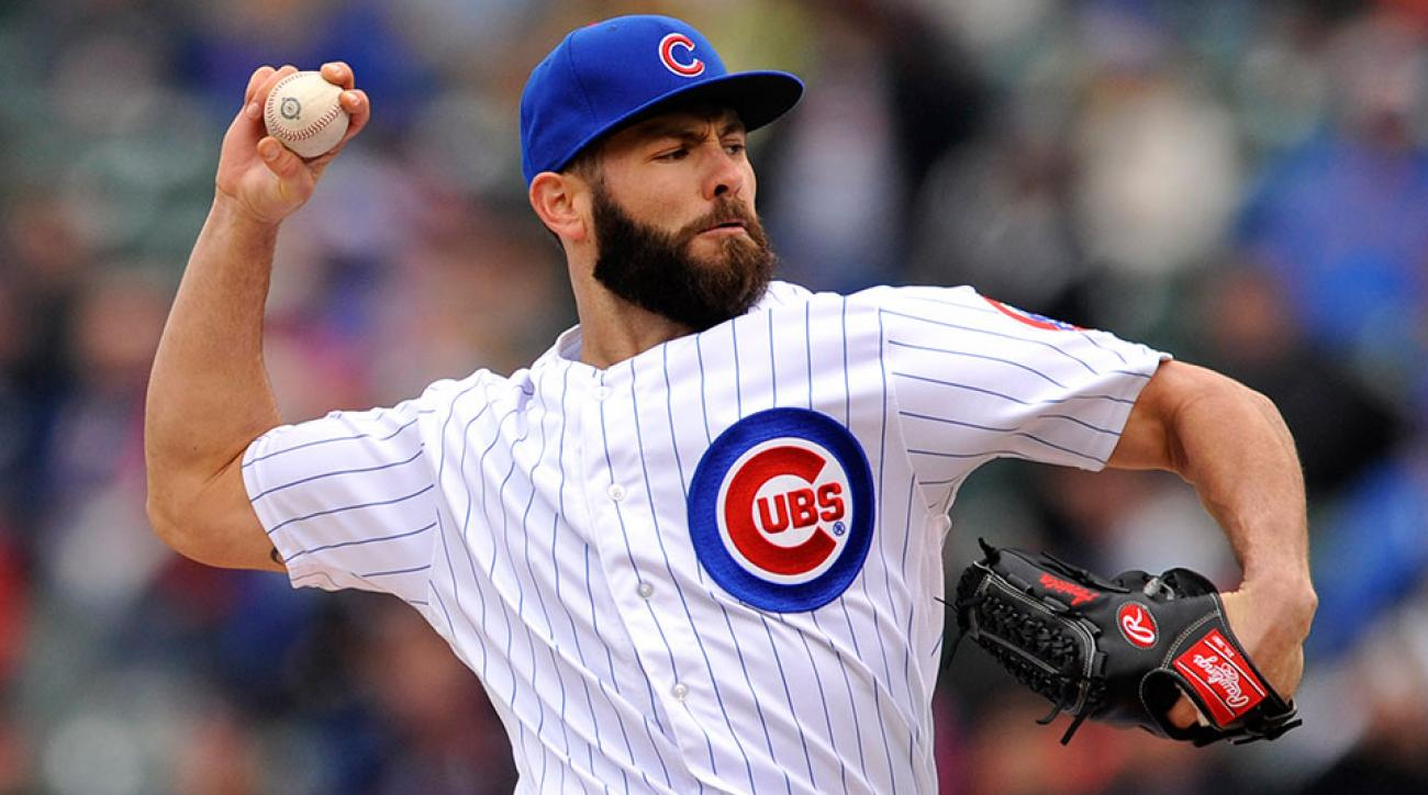 Jake Areata Baseball Cubs
