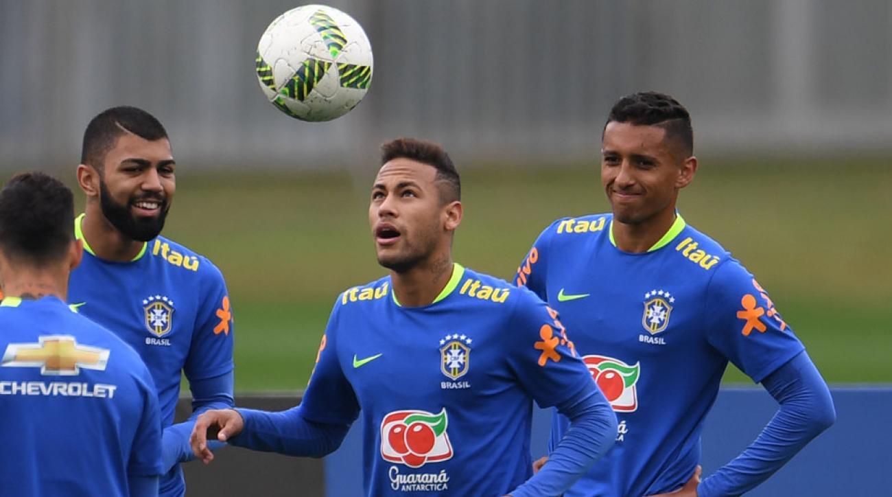 Brazil men's Olympic team: Gold medal or bust for Neymar ...
