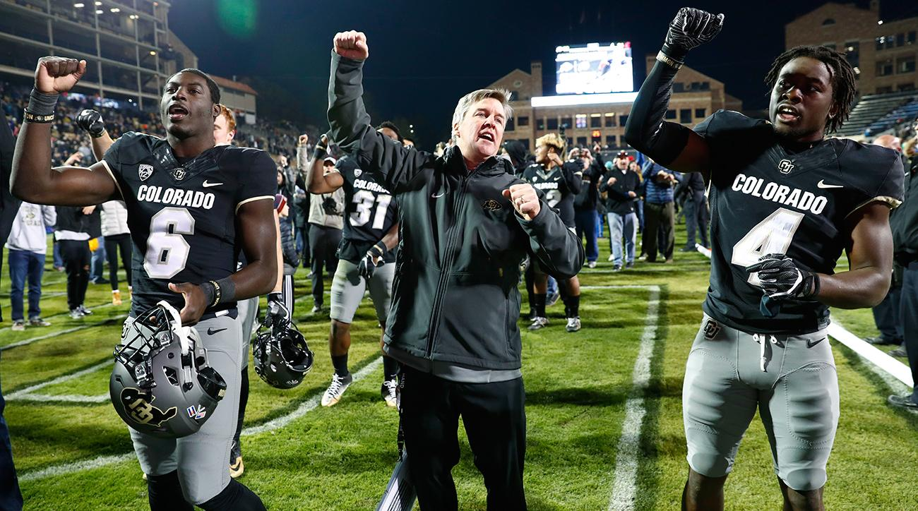 Colorado head coach Mike MacIntyre