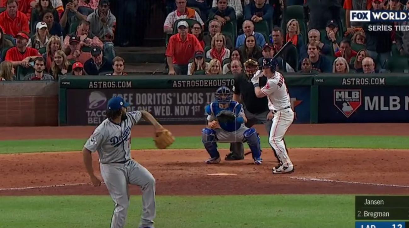 Astros Alex Bregman walk-off ends Game 5 of World Series ...