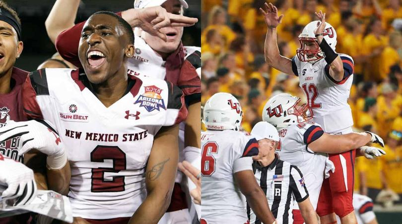 Image result for Liberty Flames vs. New Mexico State Aggies