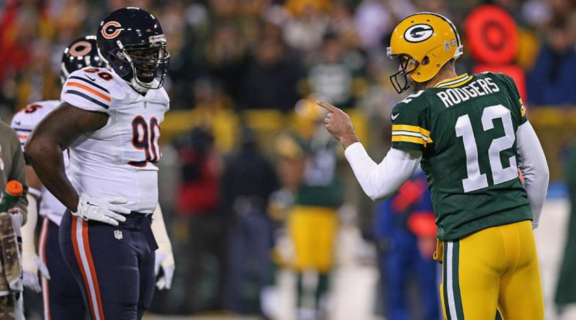 Image result for aaron rodgers bears