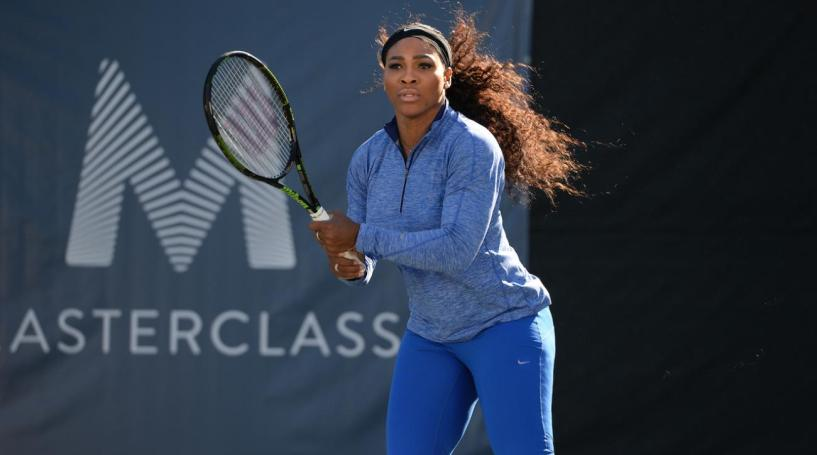 Serena Williams Masterclass Review- how to serve