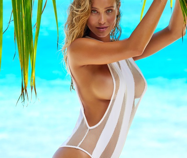 Hannah Davis Was Photographed By Yu Tsai In The Islands Of Tahiti Swimsuit By Indah