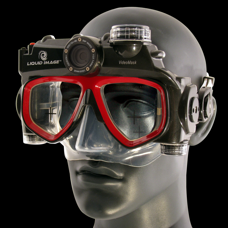 XSC VideoMask D1 // Underwater Camera Mask - Liquid Image ...