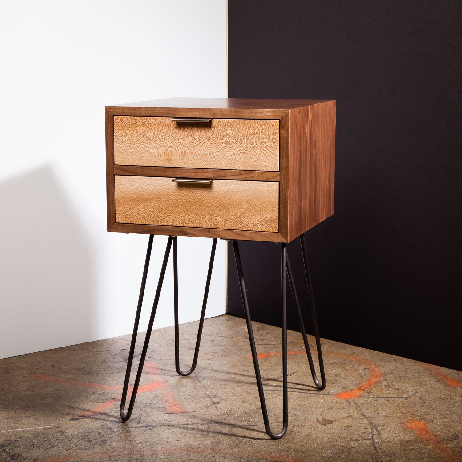 Zero Hour Nightstand 12 Hairpin Legs Cloaked Touch Of