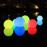 Led Ball Outdoor Light Xx Small 9 85 Dia Indosoul Touch Of Modern