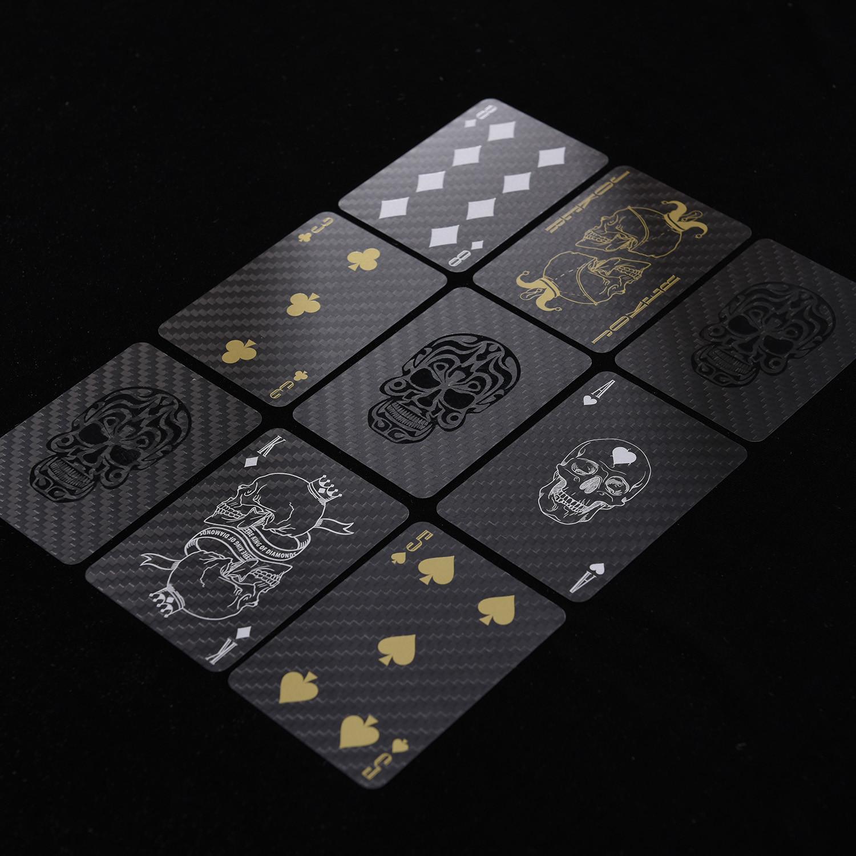 Premium Carbon Fiber Playing Poker Card Grand Edition