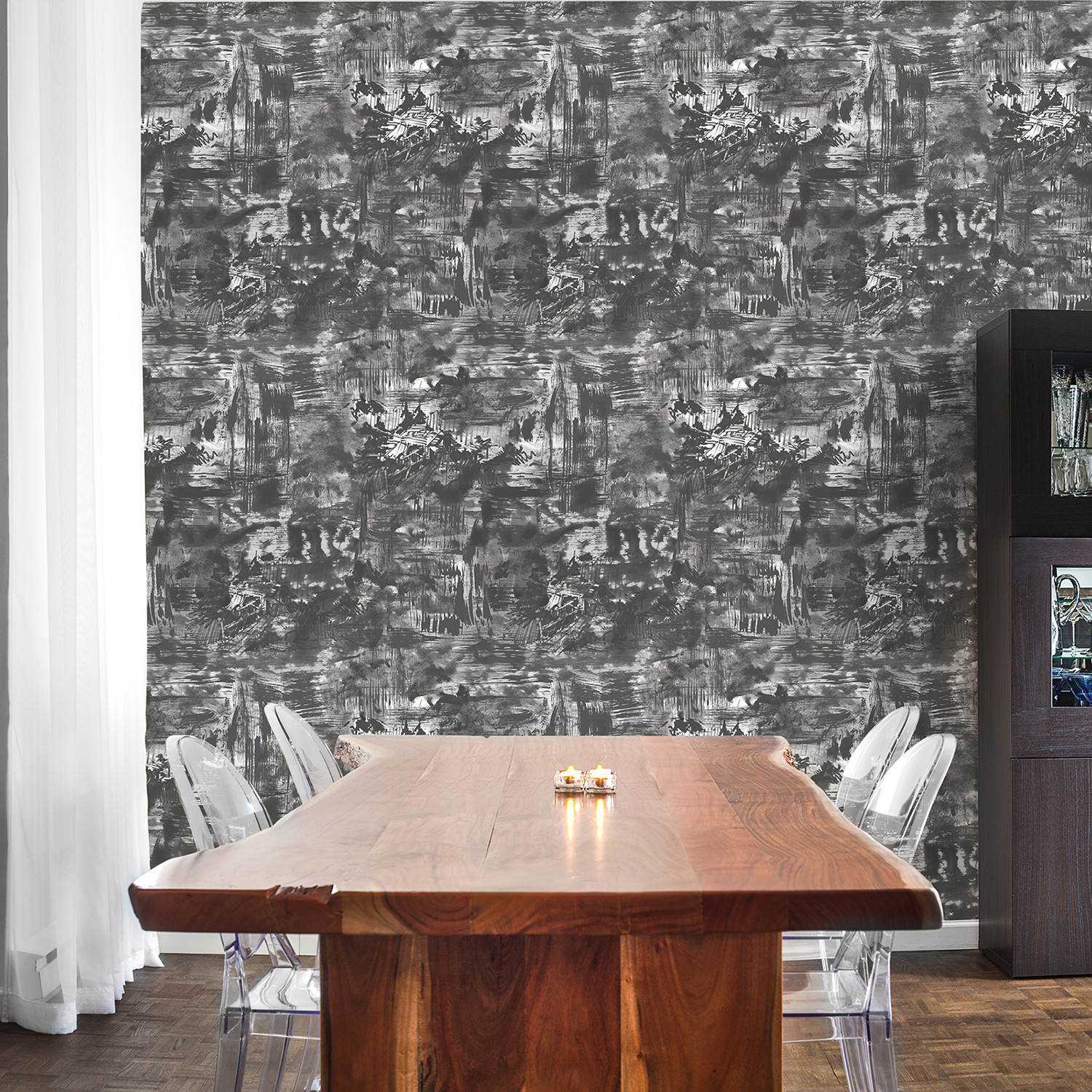 village shadow // self-adhesive wallpaper - tempaper® - touch of modern