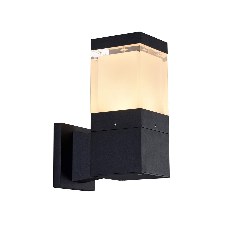 "1769BL LED // 10"" 5-Watt Outdoor Wall Sconce - VONN ... on Modern Outdoor Wall Sconce id=80200"