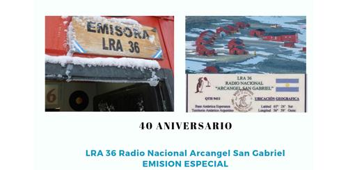 Resultado de imagen para 40 aniversario radio nacional arcangel san gabriel
