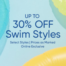 Up to 30% Off Swim Styles