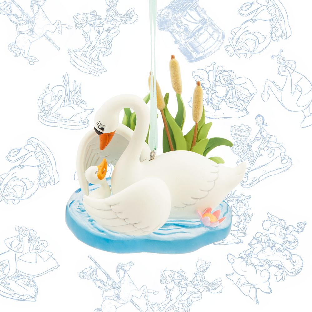 The Ugly Duckling Limited Release Sketchbook Ornament