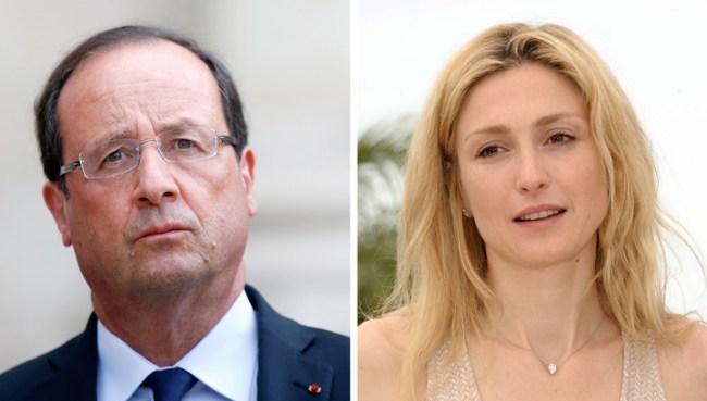 Картинки по запросу фото Жюли Гайе и Франсуа Олланд