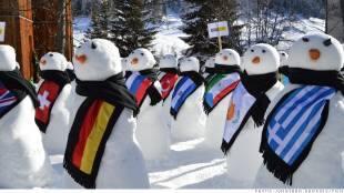 davos pupazzi di neve