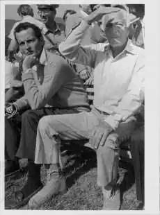 Gianni Agnelli con Edoardo