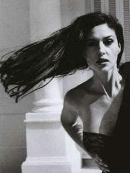 monica bellucci by helmut newton