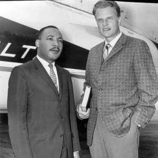 billy graham e martin luther king jr