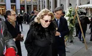Diana Bracco funerale Moratti