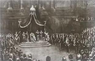 il re al senato italiano