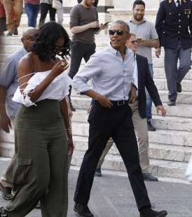 gli obama a siena