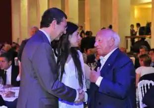 Sergio Scarpellini saluta il Sindaco Marino