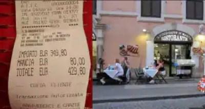 stangata ristorante centro roma