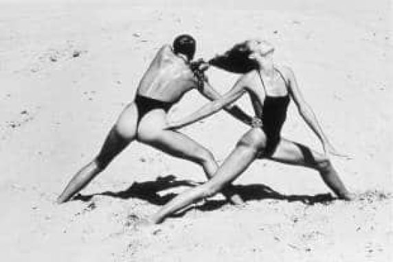 newton esercizi in spiaggia