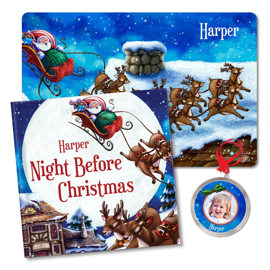 My Night Before Christmas All-In-One Gift Set | Personalised Christmas Gift For Kids