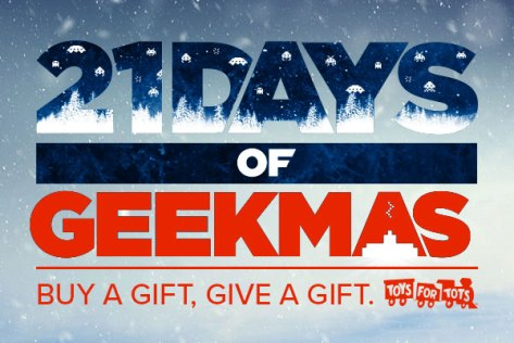 21 Days of Geekmas - Coming Soon!