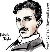 87 nikola tesla posters and art prints