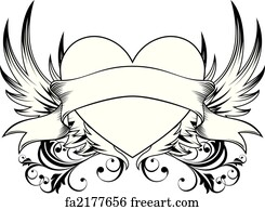 Free Heart Wings Art Prints And Wall Artwork Freeart